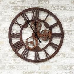 Rustic Steampunk Clock, 24